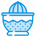 citrus, juice, juicer, squeezer icon