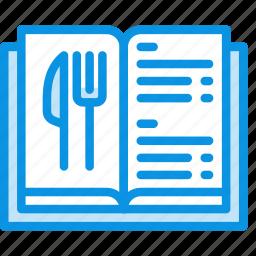 book, food, list, menu, prices icon