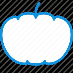 food, halloween, pumpkin, vegetable icon