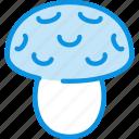 amanita, mushroom icon