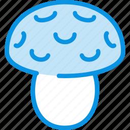 amanita, food, mushroom icon