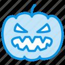 halloween, jack, pumpkin, spooky icon