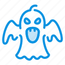 casper, evil, ghost, halloween icon