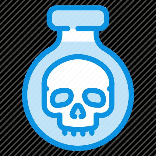 halloween, poison, potion icon