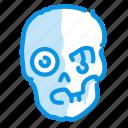 halloween, horror, zombie icon