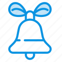 bell, christmas, ding icon