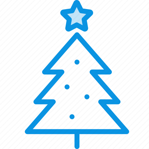 christmas, decoration, new, newyear, star, tree, year icon