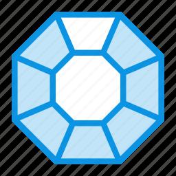 diamond, jewel, present icon