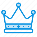 best, crown, king icon