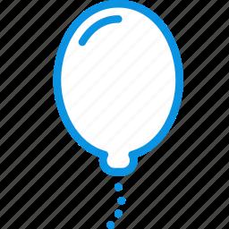 baloon, birthday, helios, holiday icon