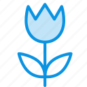 flower, present, tulip icon