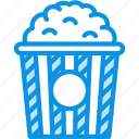 cinema, popcorn icon