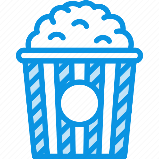 cinema, entertainment, hollywood, popcorn, show, theater icon