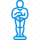 award, cinema, oscar icon