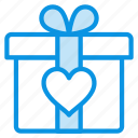 like, love, present icon