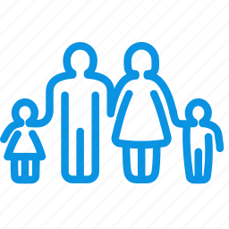 boy, child, children, family, father, girl, mother icon