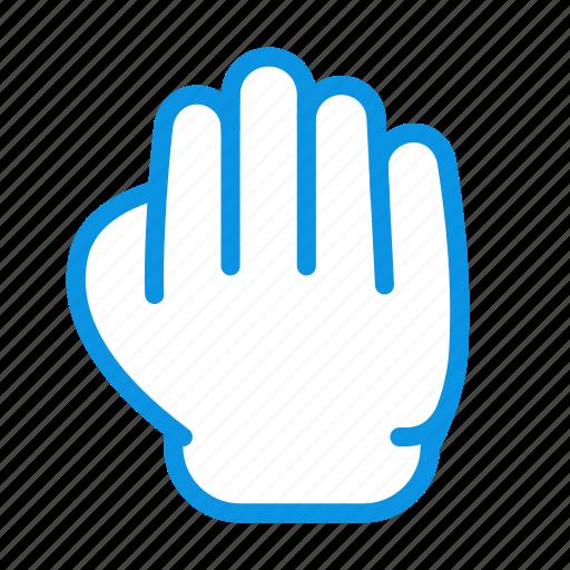 gesture, grab, hand icon