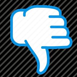 disagree, dislike, no, vote icon