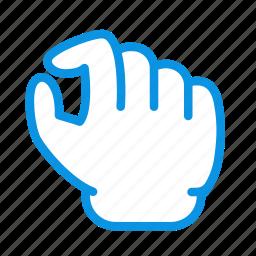 gesture, pinch, zoom icon