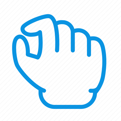gesture, out, pinch, zoom icon