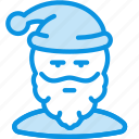 avatar, claus, frost, grandfather, santa, user icon