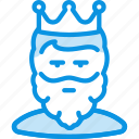avatar, beard, cesar, king, man, monarch, tsar icon