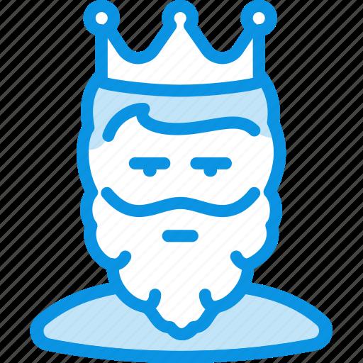 avatar, beard, cesar, king, man, monarch, tsar icon