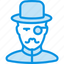 hat, hipster, holmes, millionaire, monocle, mustache, retro, watson icon