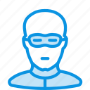 criminal, human, thief icon