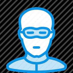 criminal, human, thief icon