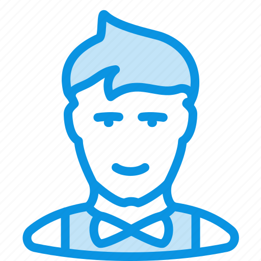 avatar, clerk, human, man, office, showman icon