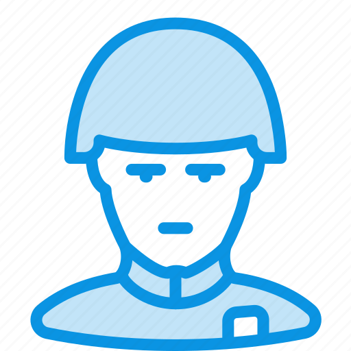 avatar, helmet, human, retro, soldier icon