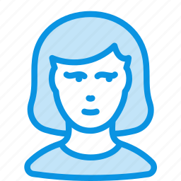 avatar, person, woman icon