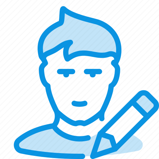 avatar, edit, human, profile, user icon