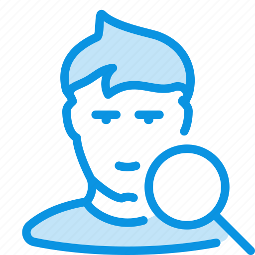 avatar, employee, human, search, user, vacansy icon