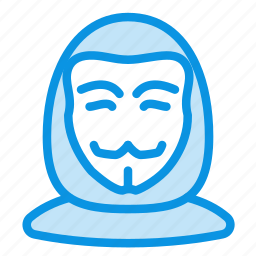 anonym, hacker, person icon