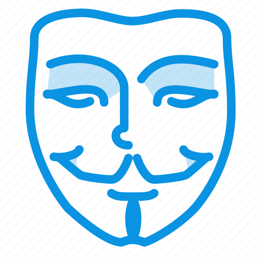 anonym, hacker, mask icon