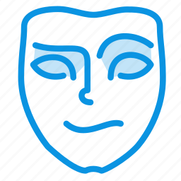 cheerful, emotion, face icon