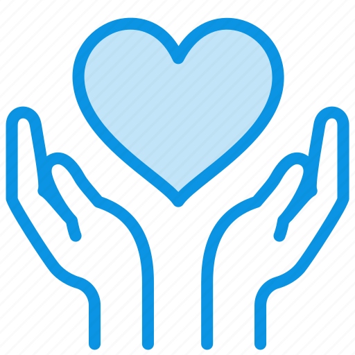 Care, hands, heart icon - Download on Iconfinder