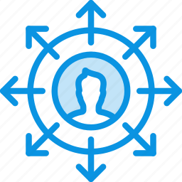 career, direction, employee, growth, oppurtunity, personal, rise icon