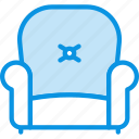 chair, furniture, lounge icon