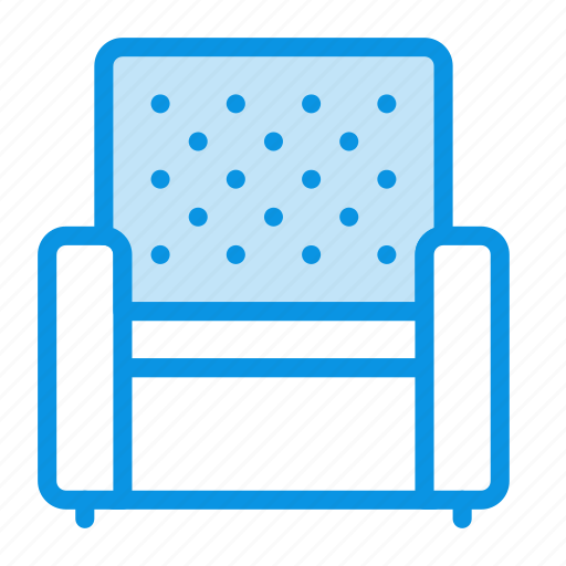armchair, chair, lounge icon