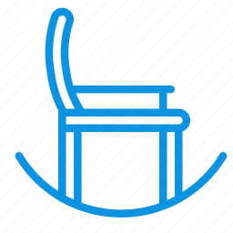 chair, furniture, interior, rocking icon