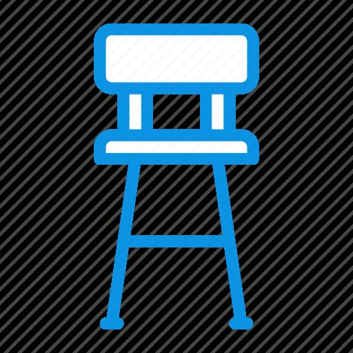 bar, chair, furniture, interior icon