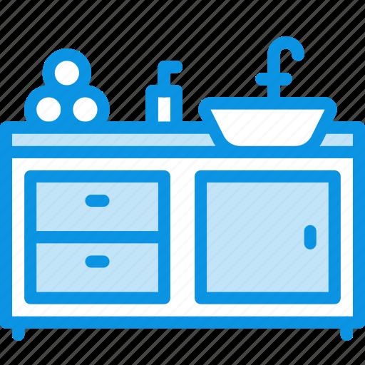 Bathroom, interior, sink icon - Download on Iconfinder