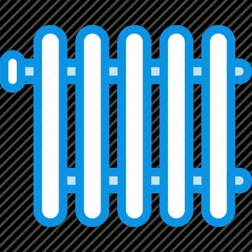 heating, radiator icon