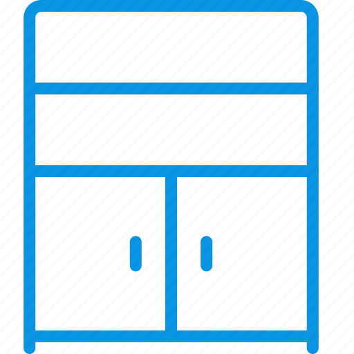 cabinet, cupboard, furniture, interior icon