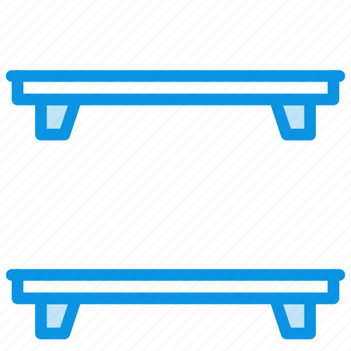 furniture, interior, shelf, shelves icon