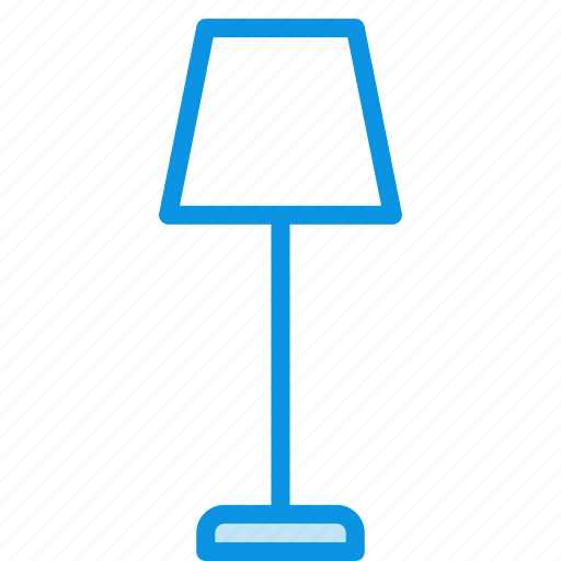 floor, furniture, interior, lamp, light icon