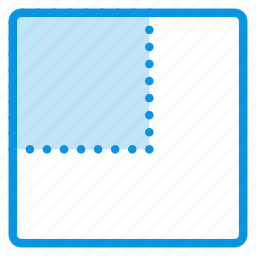 layout, scale icon